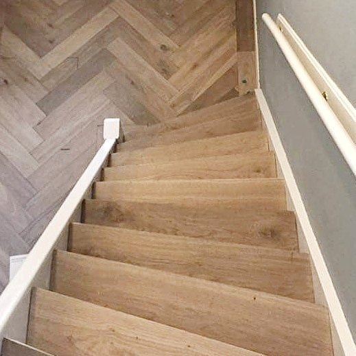 traprenovatie eikenhout op uw trap