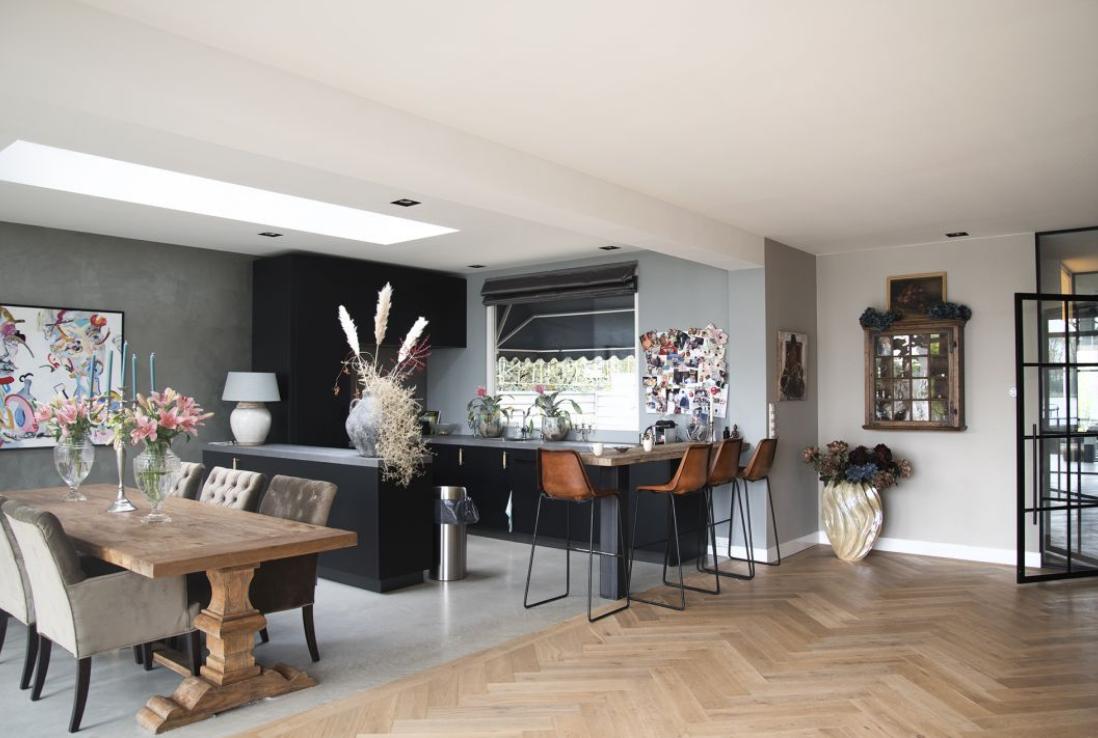 Moderne Visgraat Vloer : Visgraat vloer le chateau vloeren